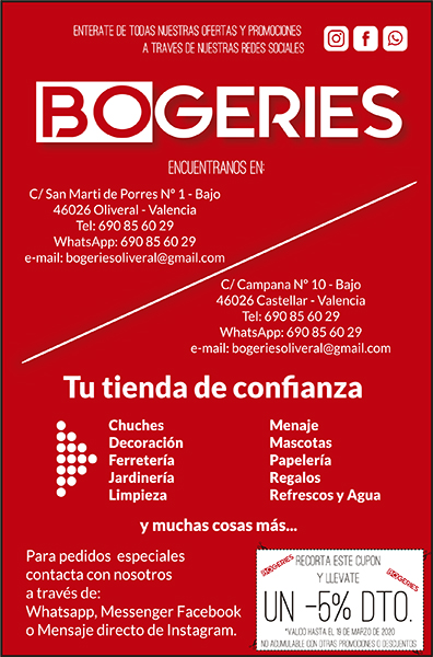 BOGERIES 1